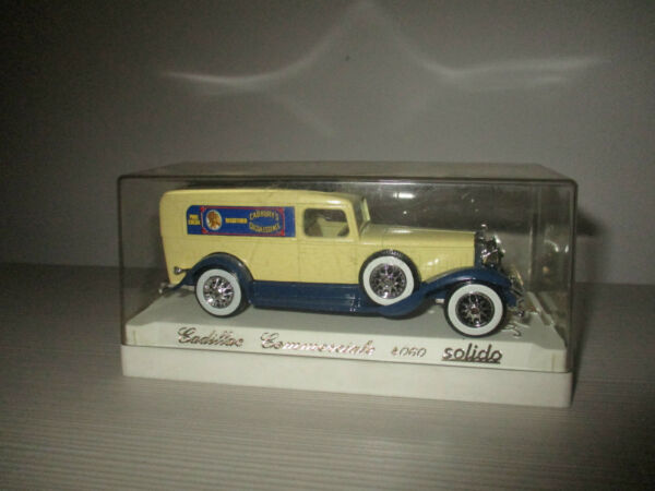 CADILLAC COMMERCIALE 4060 SOLIDO AGE D'OR SCALA 1:43