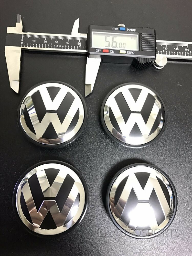 4pcs 56mm Wheel Hub Caps Logo Fit For Vw Volkswagen Golf Beetle Jetta 1j0601171 Ebay