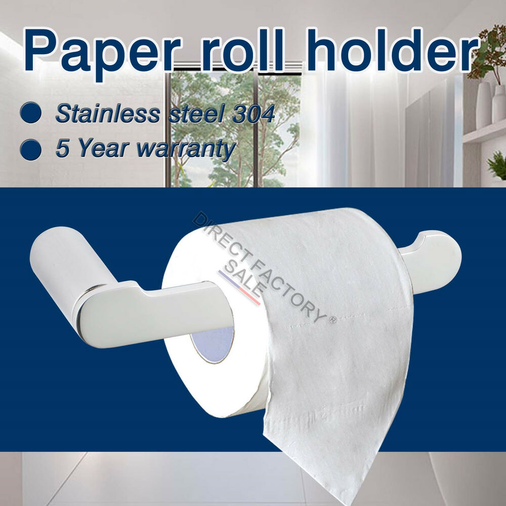 Bathroom accessories toilet roll paper holder square round for Chrome bathroom fittings