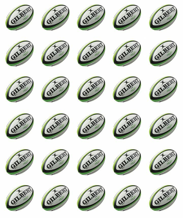 Cake Decorations Edible Balls : 30xRugby Balls Cupcake Toppers Edible Wafer Paper Fairy ...