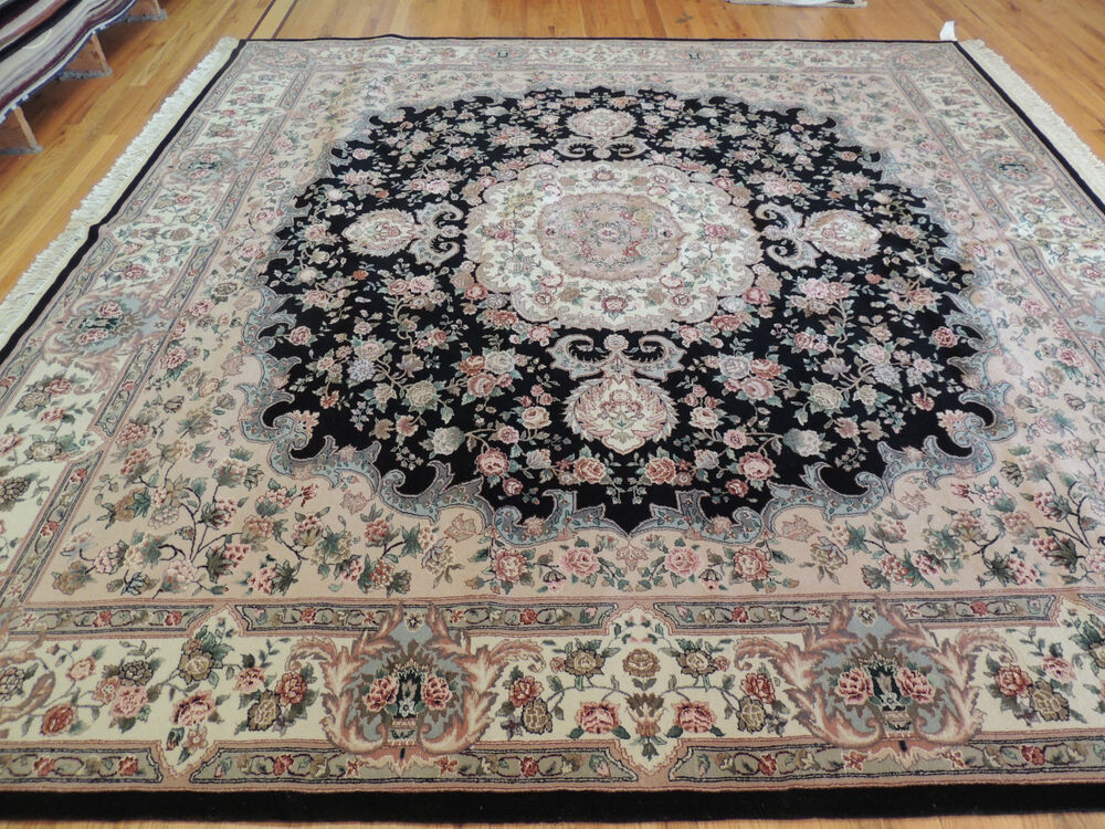 dramatic large oriental persian tabriz style square area