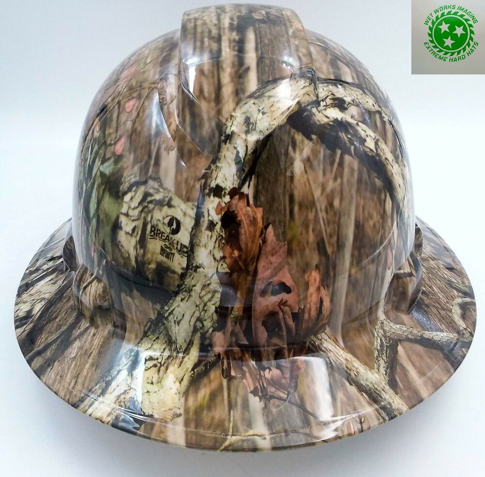 Hard Hat Full Brim Custom Hydro Dipped Osha Approved