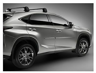 LEXUS OEM FACTORY ROOF RACK CROSS BAR SET 2015-2018 NX200T ...