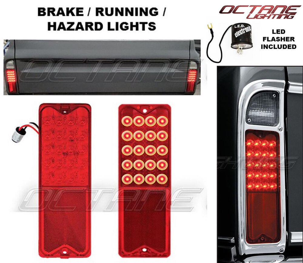 85 Chevy C10 Led Tail Lights