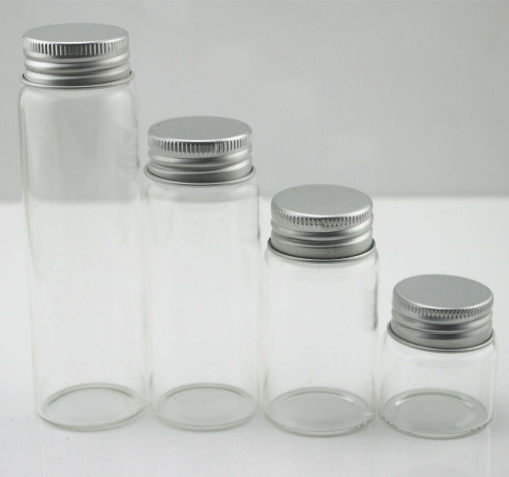 Ml Glass Vials With Lid