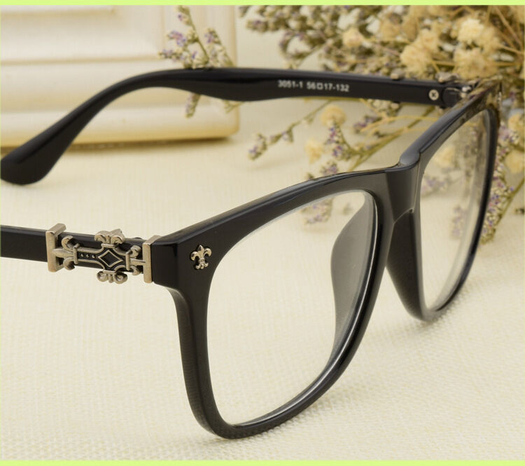 Vintage Black Frame Glasses : Women Men Vintage Glasses Eyeglasses Frames Eyewear Retro ...