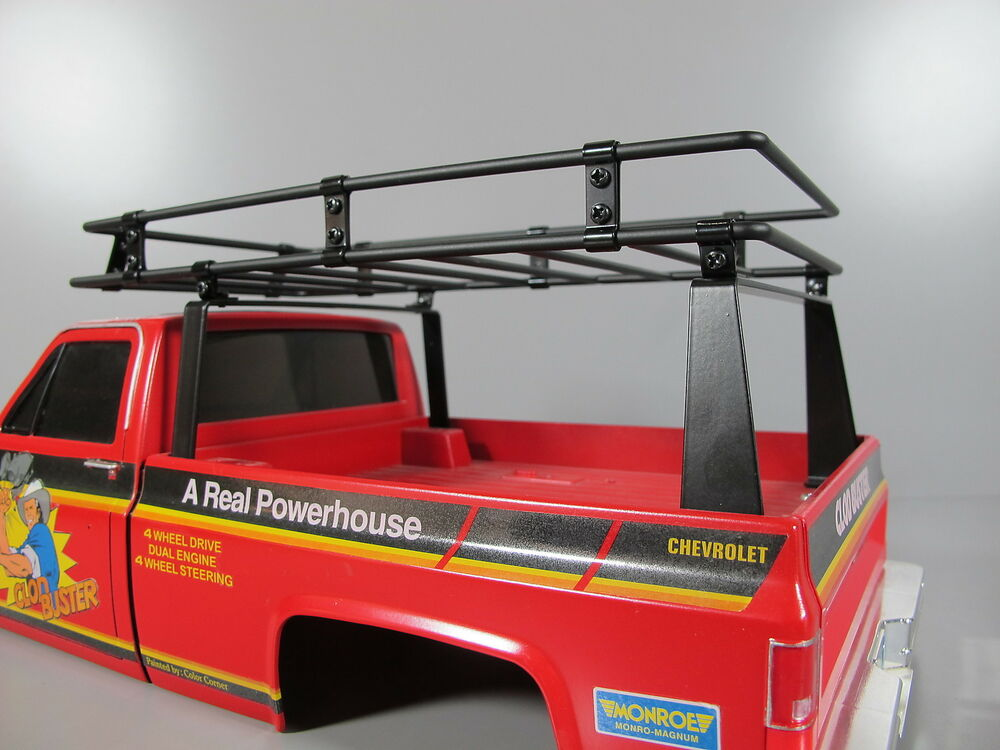 New Metal Cargo Bed Roof Rack For Tamiya R C 1 10 Super Clodbuster 4wd Truck Ebay