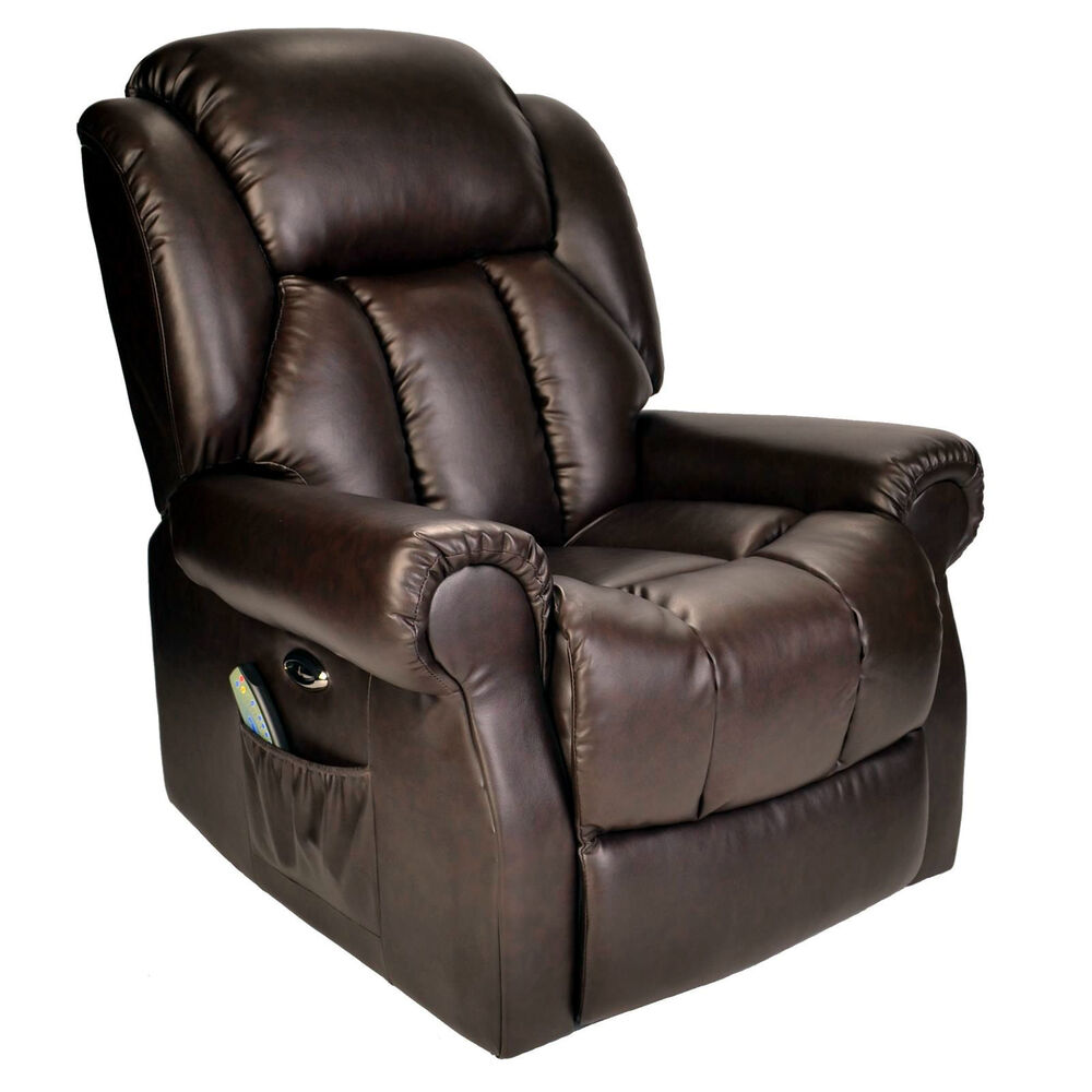 Hainworth Leather reclining powered Electric recliner ...