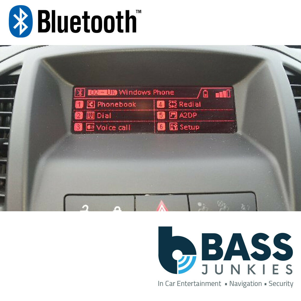 1900 Replica Kit Makes Bentley: Vauxhall Astra GTC CD300 CD400 CDC400 Handsfree Bluetooth