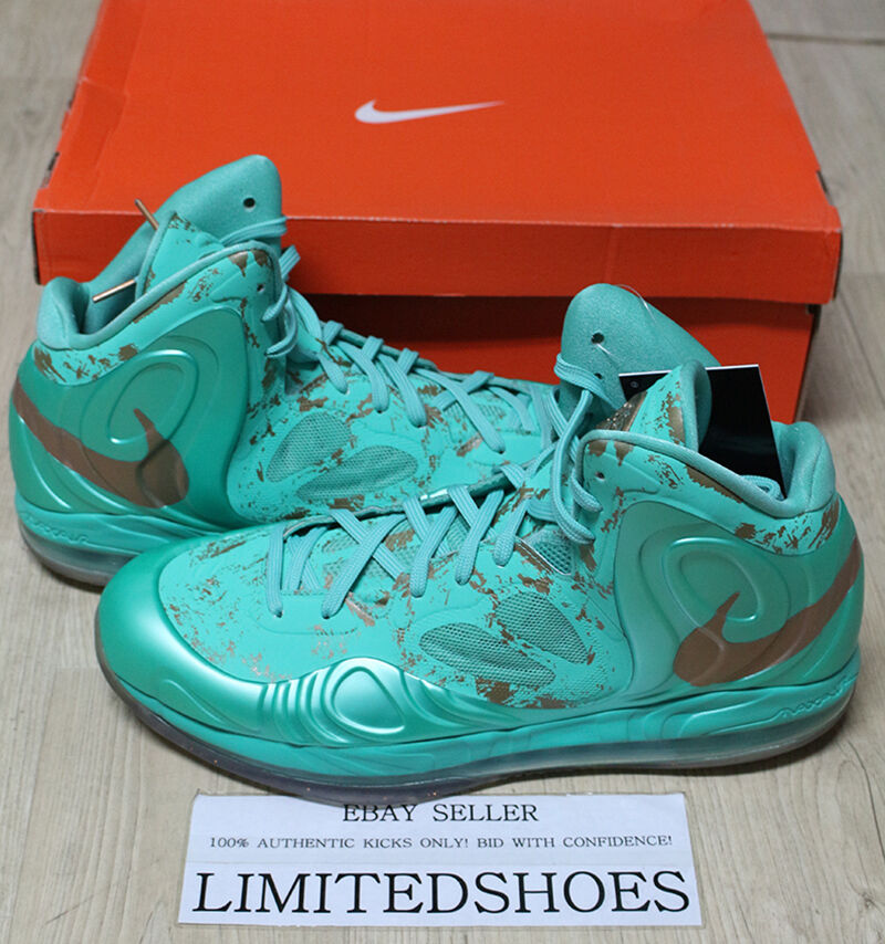 5786fced582a Details about NIKE AIR MAX HYPERPOSITE STATUE OF LIBERTY NYC 524862-301 all  star amare knciks