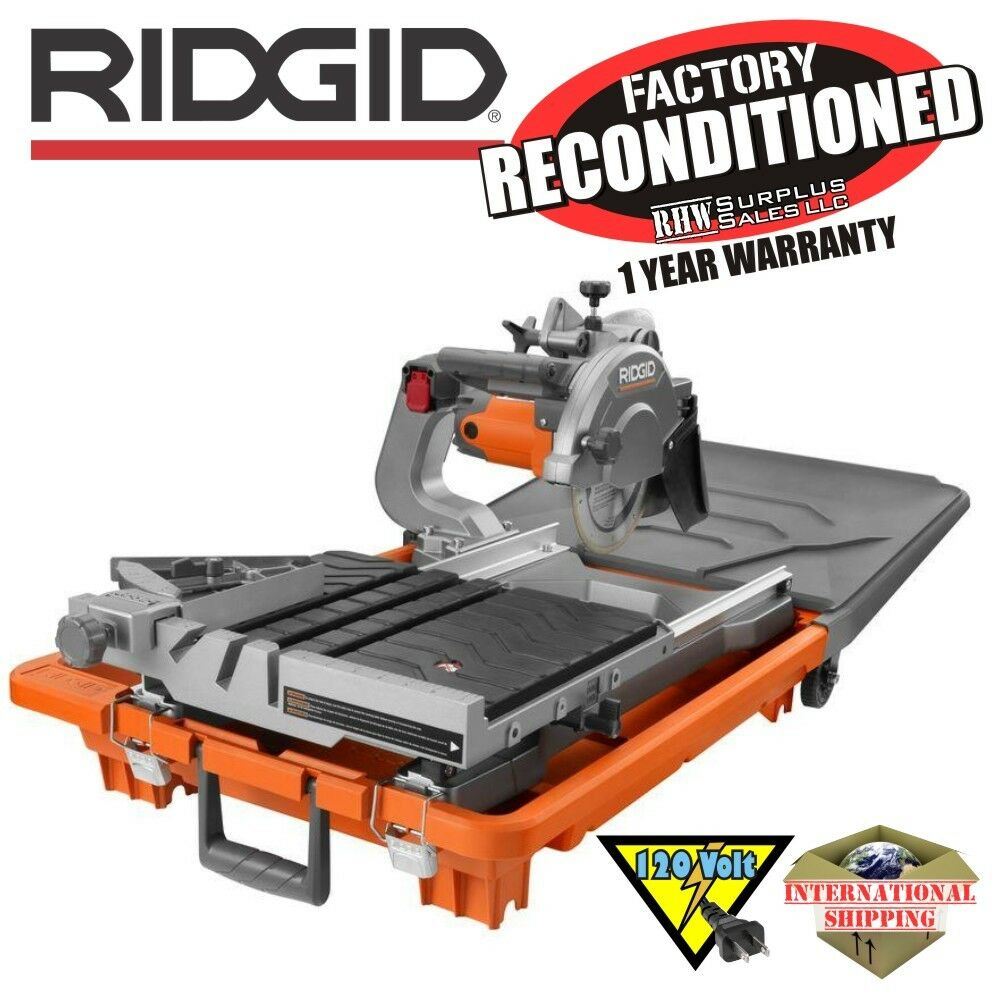 Ridgid R4040 8 In Tile Saw Without Stand Zrr4040