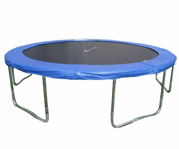 Round Trampoline Mat Spare Parts Replacement For 12 13 14: Brand New 14' FT 6U Legs Round Trampoline With Cover Pad