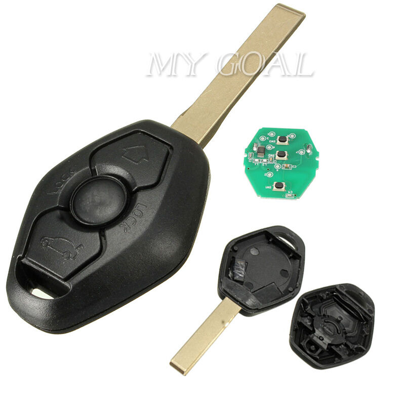Remote Key Fob 433mhz Transponder Circuit Board Blade For