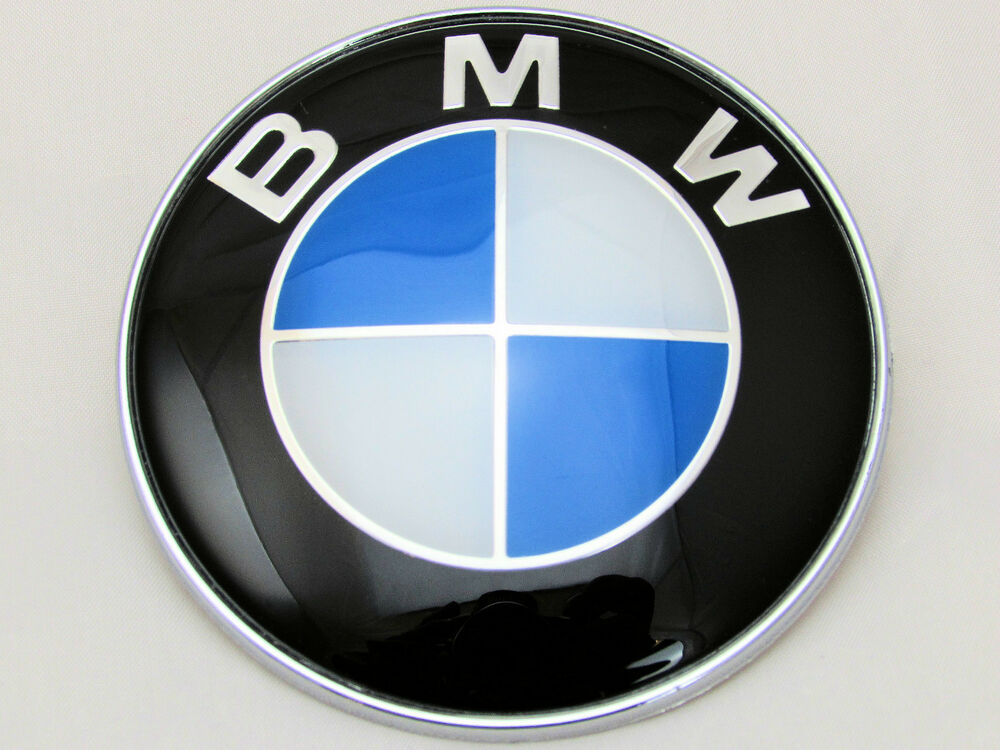 Bmw 1 3 5 7 Z3 Z4 X3 X5 Series Bonnet Badge Front Logo Emblem 82mm Ebay