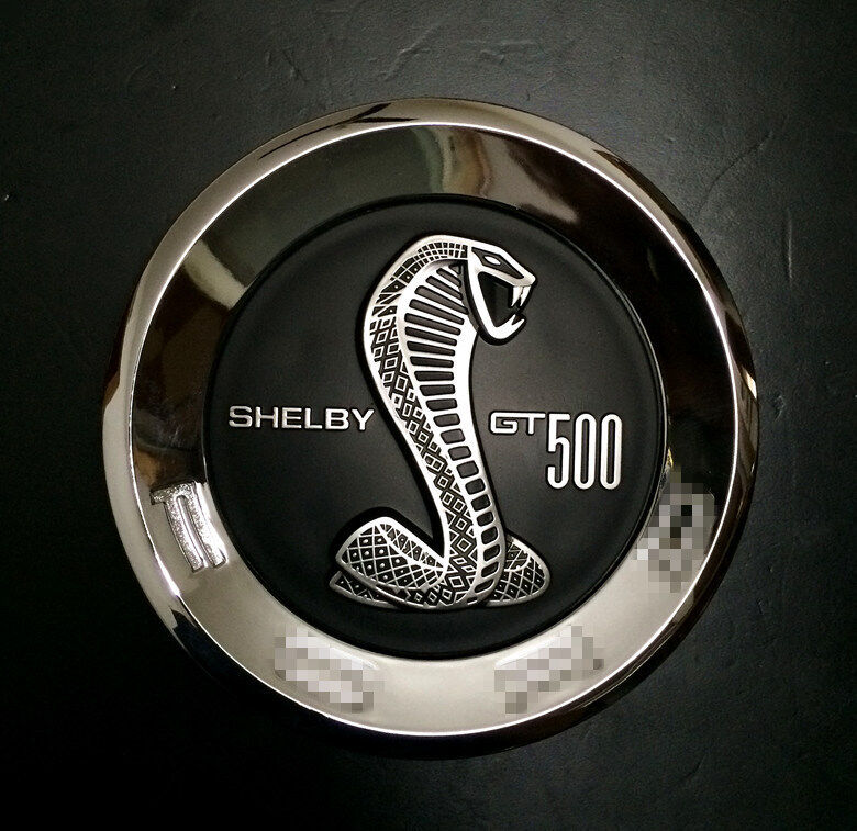 New Abs Chrome Black Ford Mustang Shelby Gt500 Cobra Snake