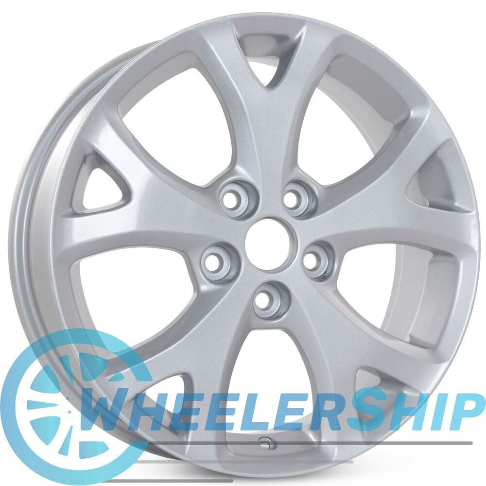 "Mazda 6 Rims Wheels: New 17"" X 6.5"" Alloy Replacement Wheel For Mazda 3 2007 2008 2009 Rim 64895"