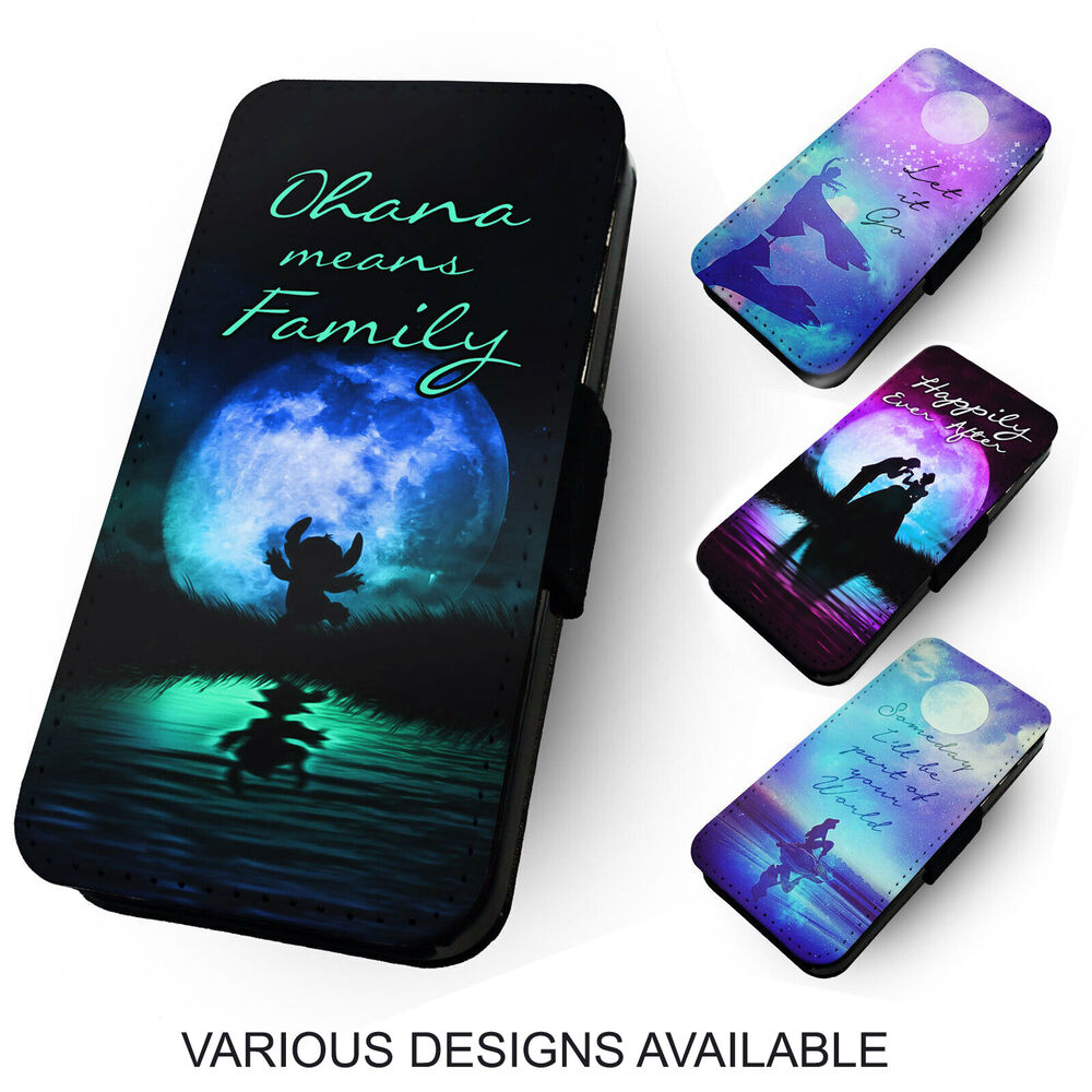 iPhone personalised phone case iphone 5c : ... Silhouettes. Printed Faux Leather Flip Phone Cover Case. Ohana : eBay