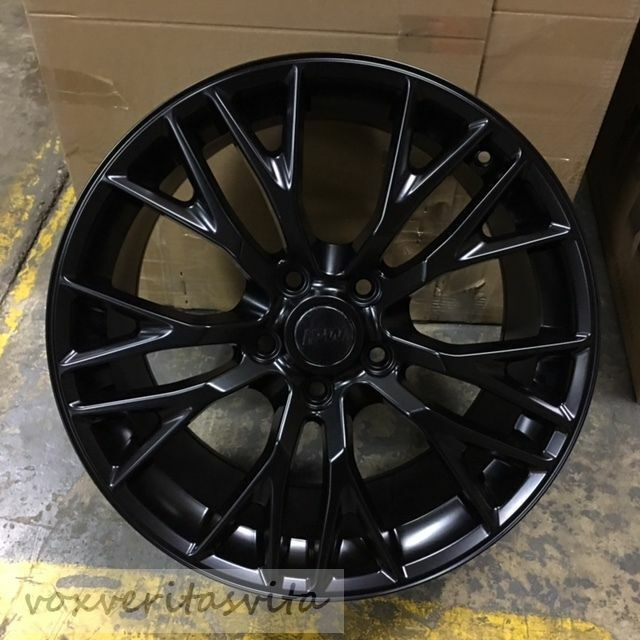1819 GUNMETAL GREY C7 Z06 STYLE WHEELS RIMS FOR 2005
