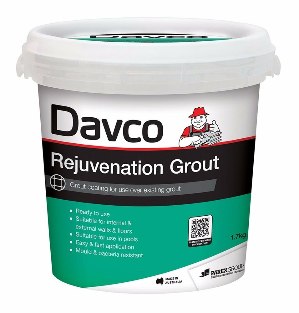 Davco REJUVENATION GROUT 1.7Kg *Aust Made - Picket Fence, Abyss Or ...