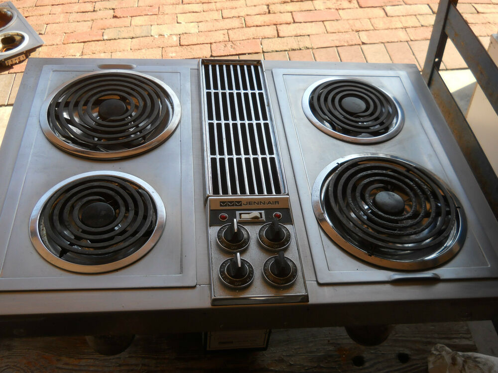 Jenn Air C221 Downdraft Stainless With Grill Unit Ebay