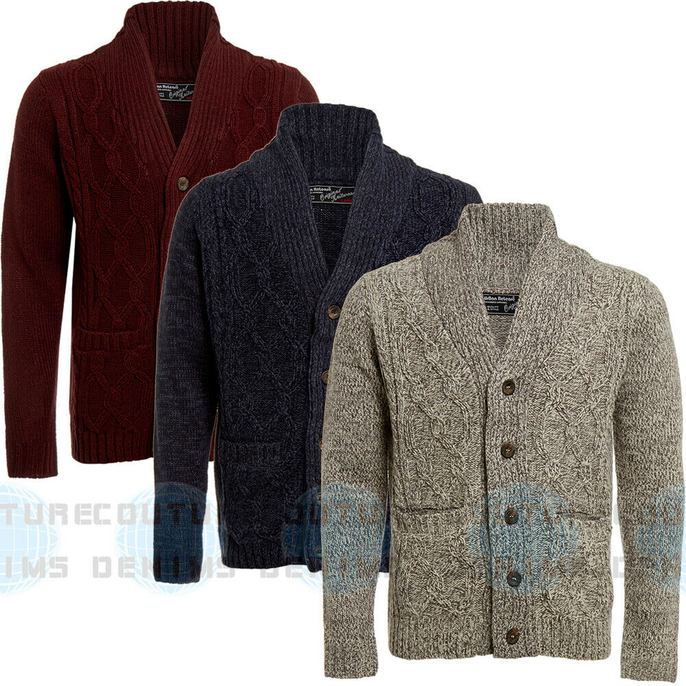 Shawl Sweater Mens