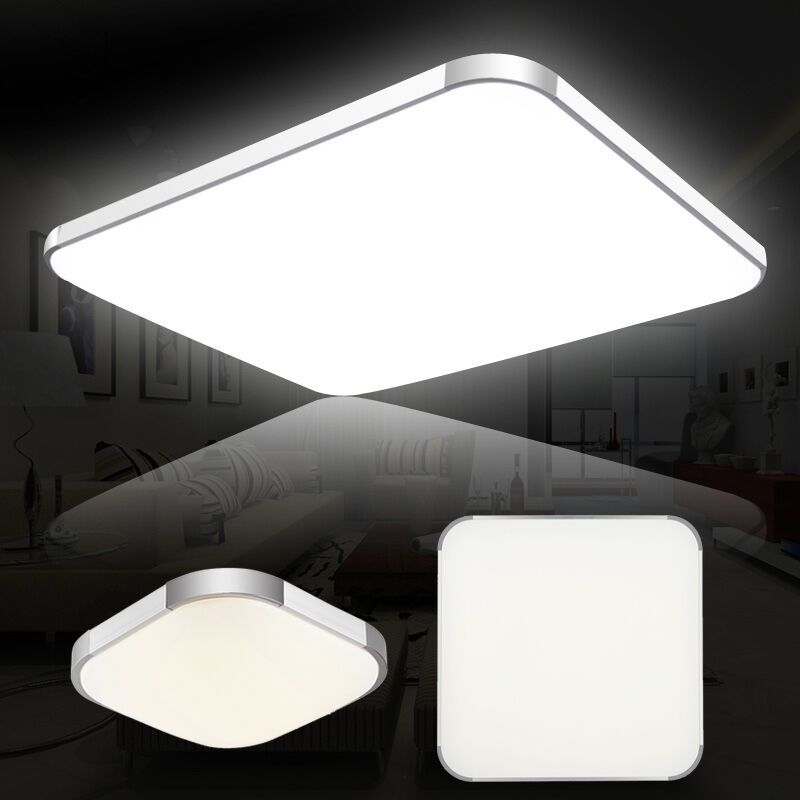 LED Ceiling Down Light Panel Recessed Kitchen Living Lamp