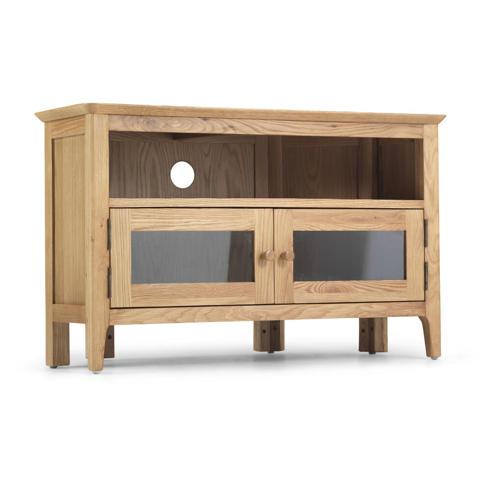 sydney contemporary solid wood oak corner widescreen lcd tv cabinet stand unit ebay