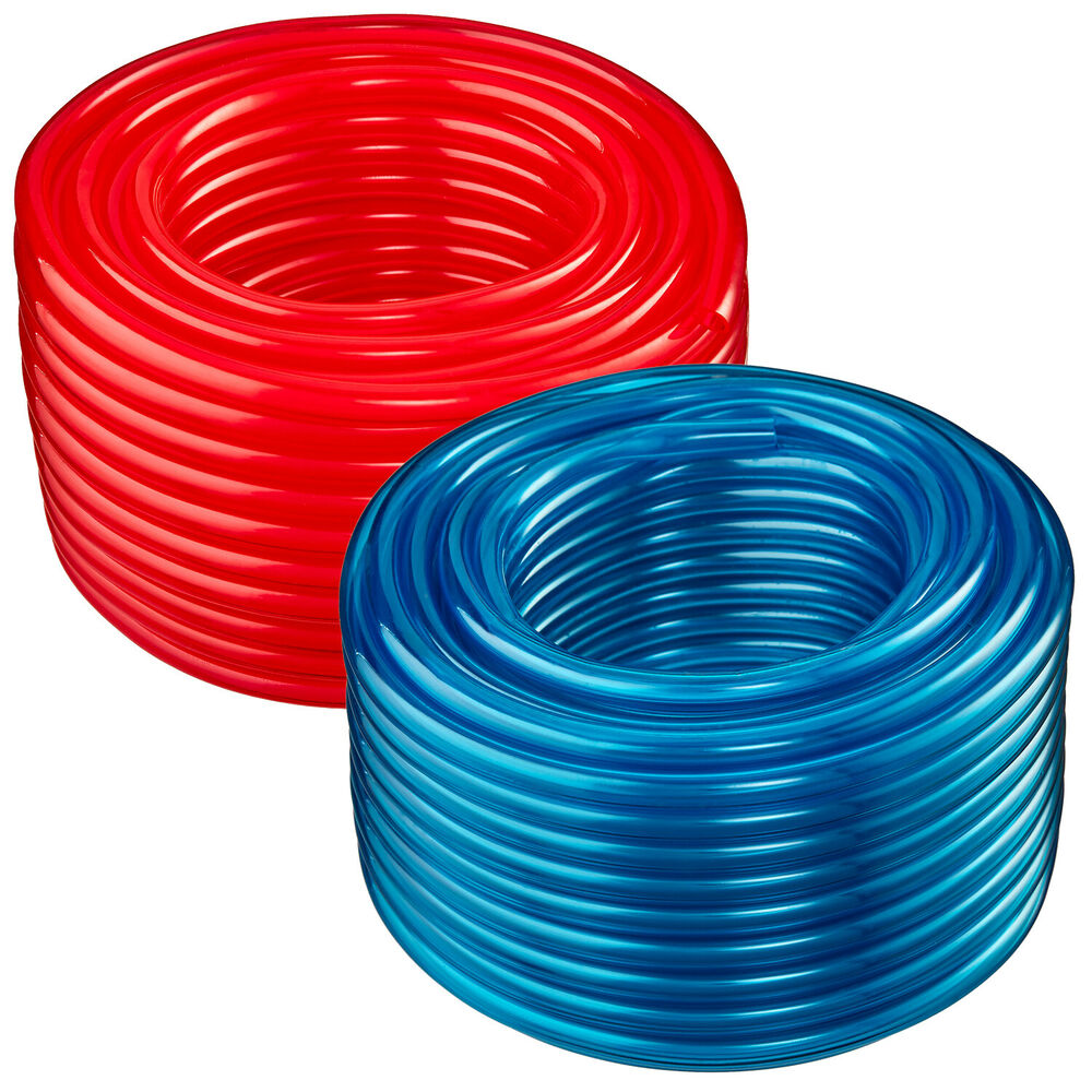 1 2 Quot Id X 5 8 Quot Od 50 Ft Translucent Red Or Blue