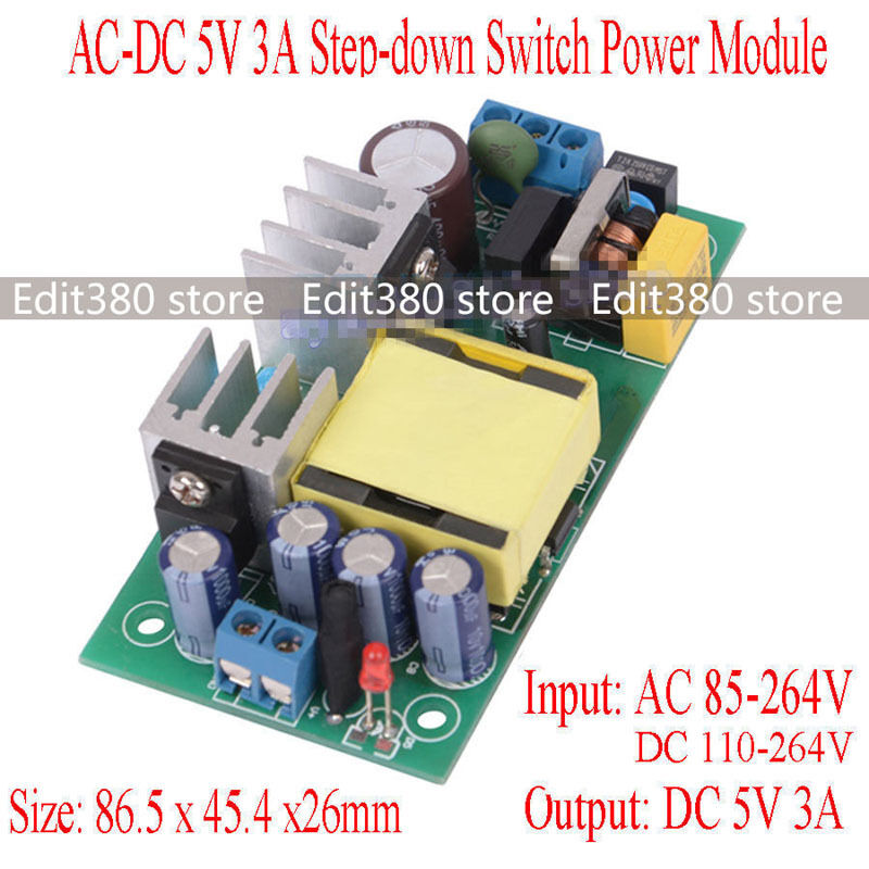 universal ac  dc adapter 5 volt 15 watt switching power Switching Power Supply Block Diagram How Switching Power Supply Works