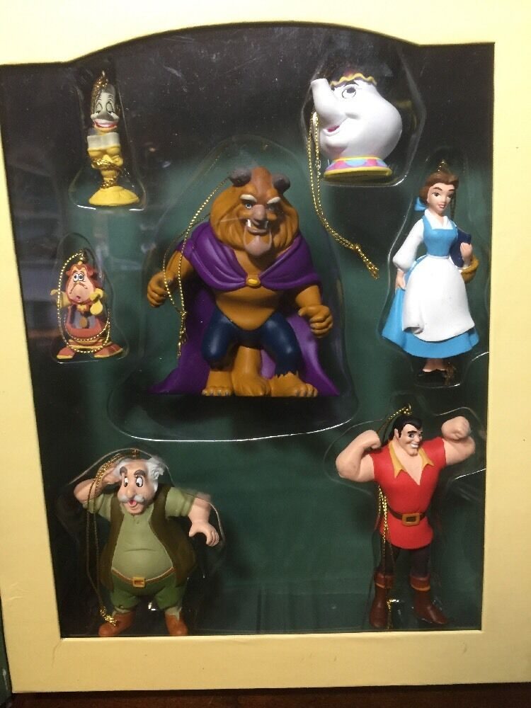 Disney Storybook Ornament Set - Beauty And The Beast