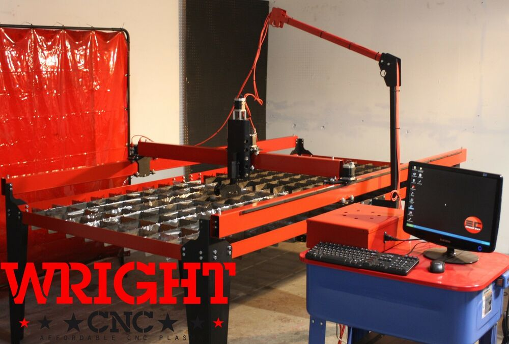 Wright Cnc Plasma Cutting Table Quot Pro Kit Quot 4ft X 8ft Ebay