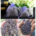 5pcs Real Lavender Organic Dried Flower Sachets Bud Bloom Bag Scent Fragrance