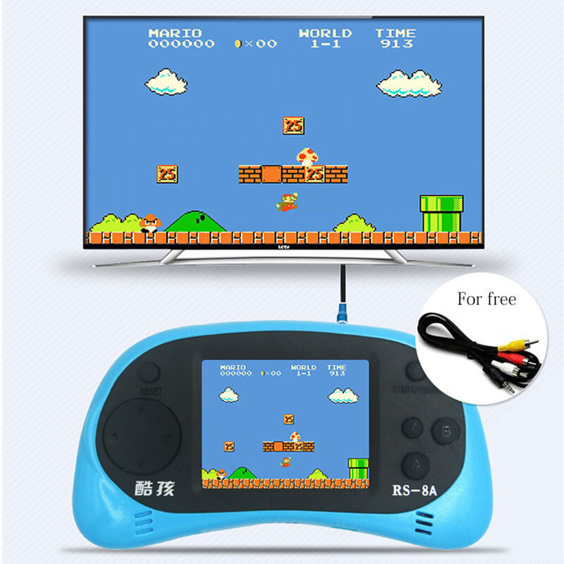 Game Console 2 5 Screen Portable Video Game Handheld