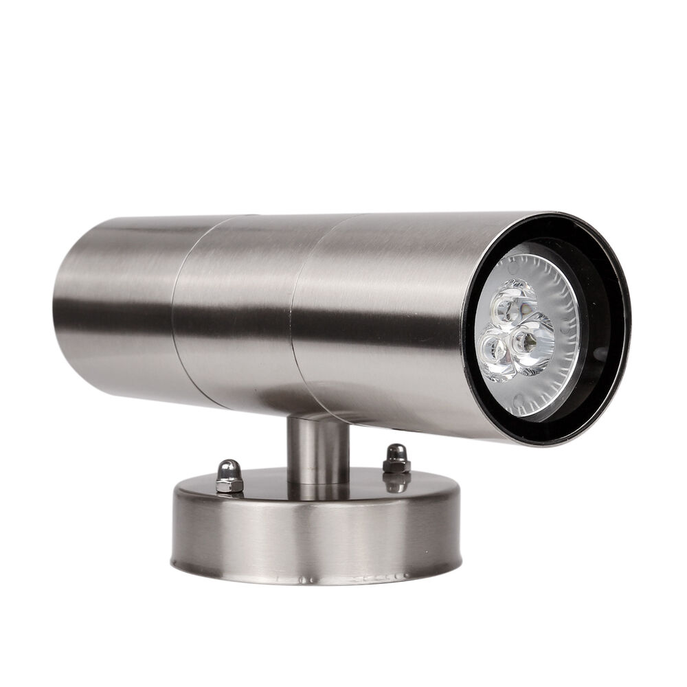 Outdoor 6w modern led light wall sconce up down waterproof for Exterior up and down lights led
