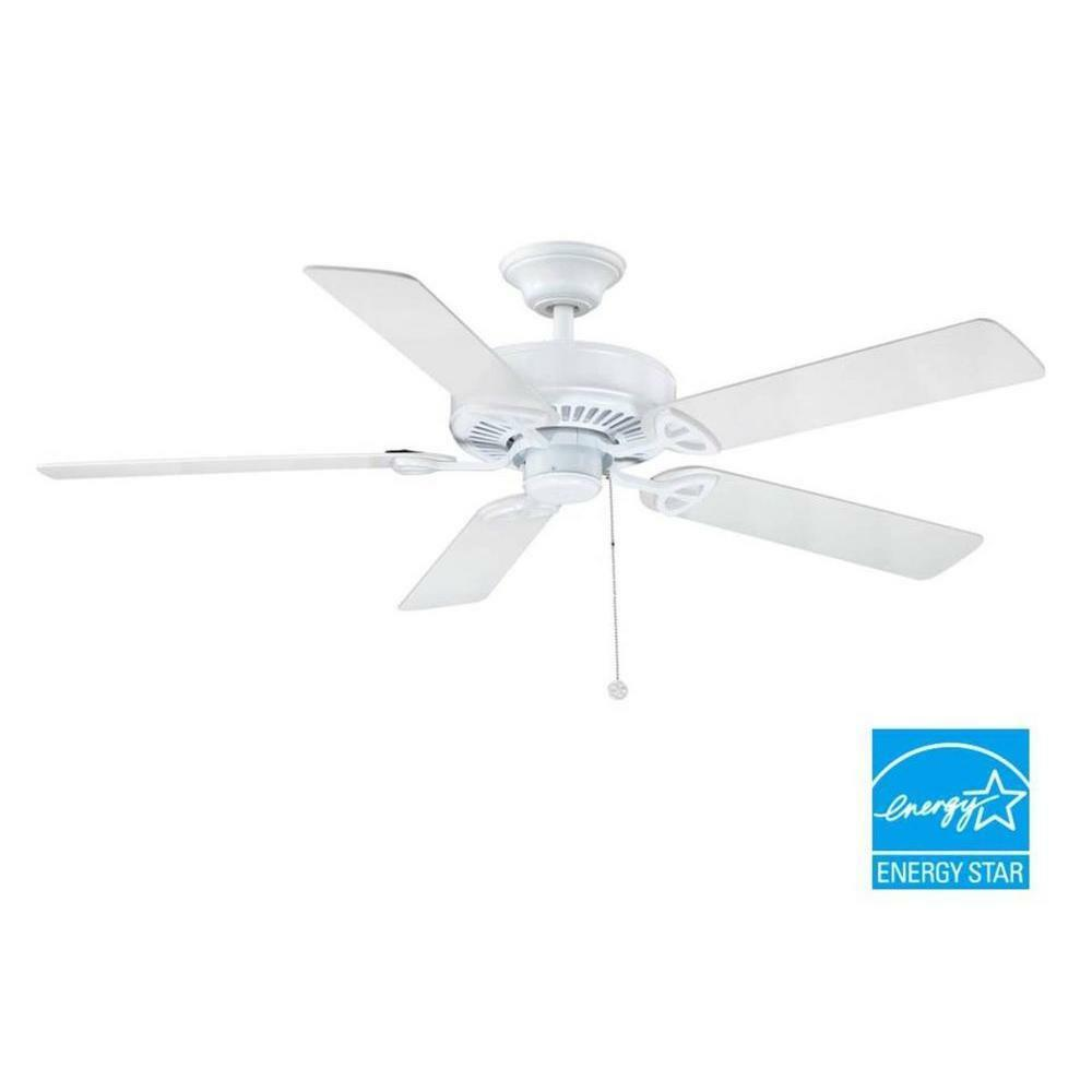 Farmington 52 In Indoor White Ceiling Fan Replacement