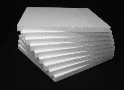 3x Styrofoam Blocks Sheets 10 X 10 X 2 Tapered White