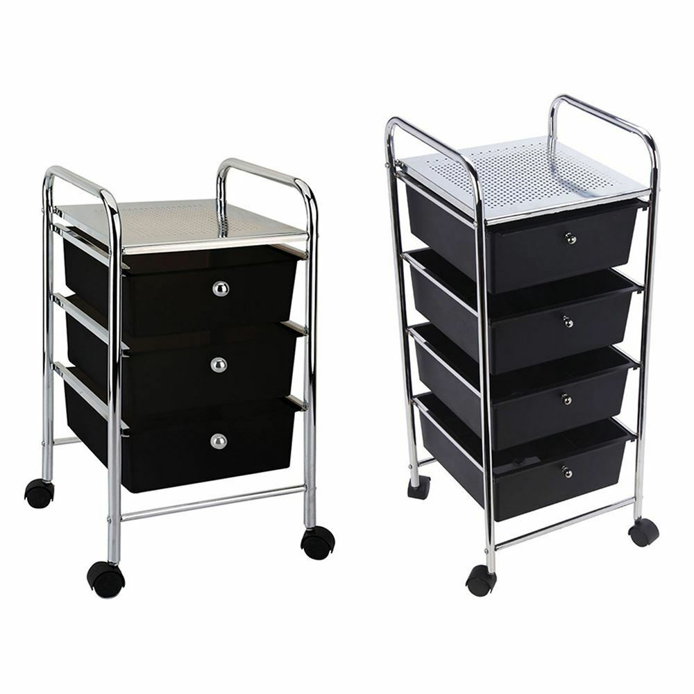 Black Granite Kitchen Trolley