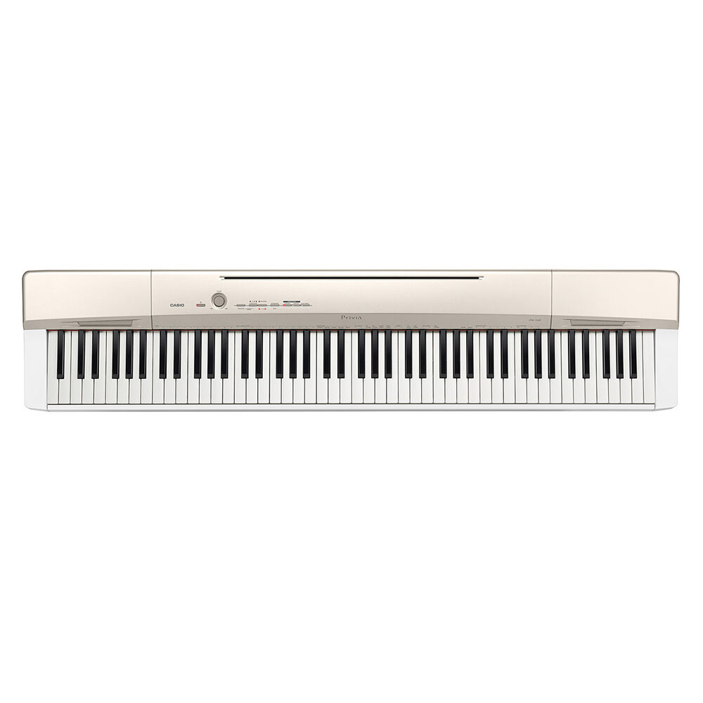 casio privia px 160 88 key digital piano keyboard champagne gold w effects usb 712392928144 ebay. Black Bedroom Furniture Sets. Home Design Ideas