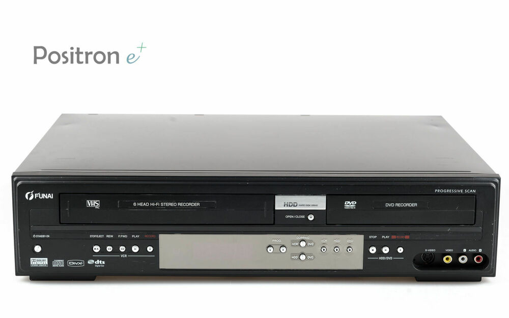 funai t3a a8182db vhs dvd hdd recorder kombination gewartet 1 jahr garantie ebay. Black Bedroom Furniture Sets. Home Design Ideas