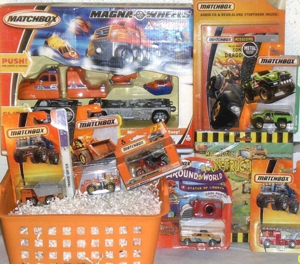 Christmas Toys Cars : New matchbox christmas toy gift basket toys cars playset
