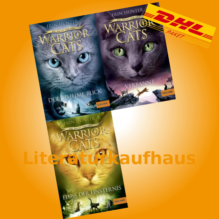 Warrior Cats Staffel 3 Bd 1 2 3