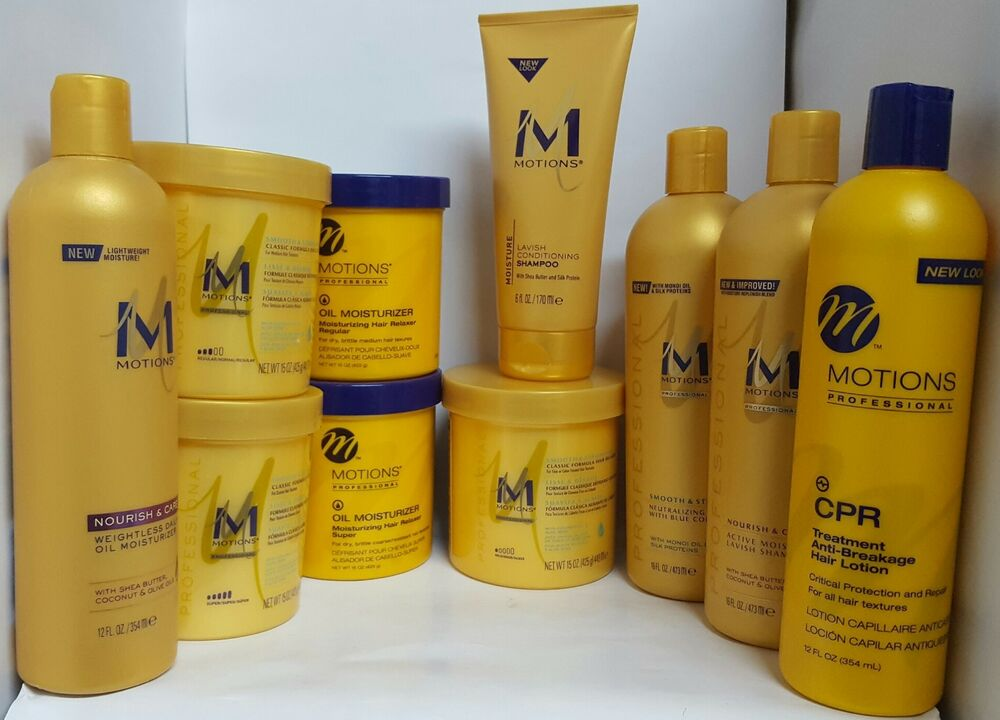 MOTIONS HAIR CARE PRODUCTS**FULL RANGE**SPECIAL OFFER**UK