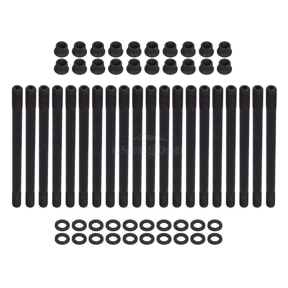 Ford 4 6 Cylinder Head Replacement: Engine Head Stud Kit Fits 2003-2010 FORD POWERSTROKE