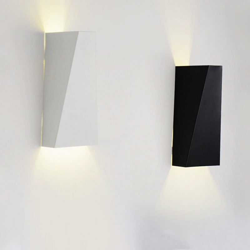 10w Warm White Modern Led Wall Lights Up Down Cube Indoor