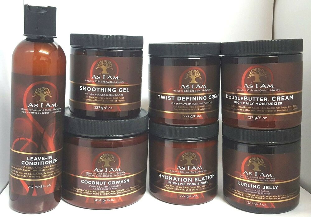 As I Am Beautiful Coils And Curls Hair Products Full