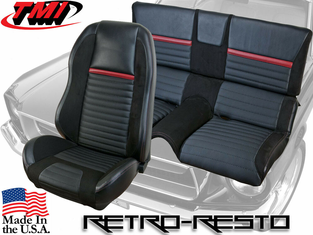 1969 70 Ford Mustang Mach 1 Sport R Seat Upholstery Foam Kit Ebay