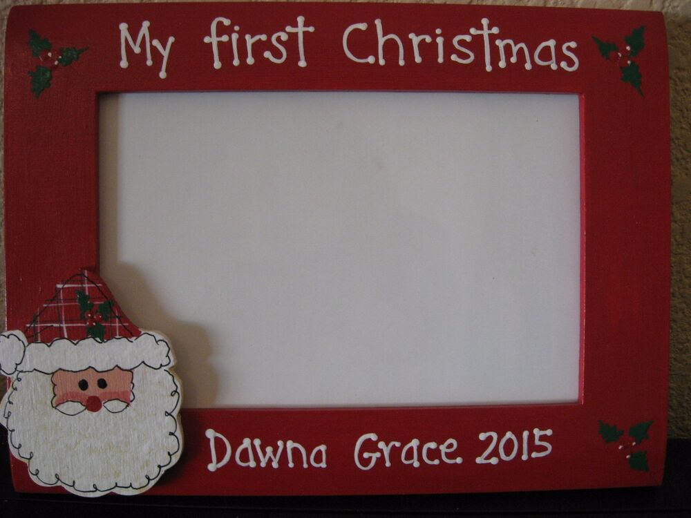 My First Christmas Baby Family Memories Holiday