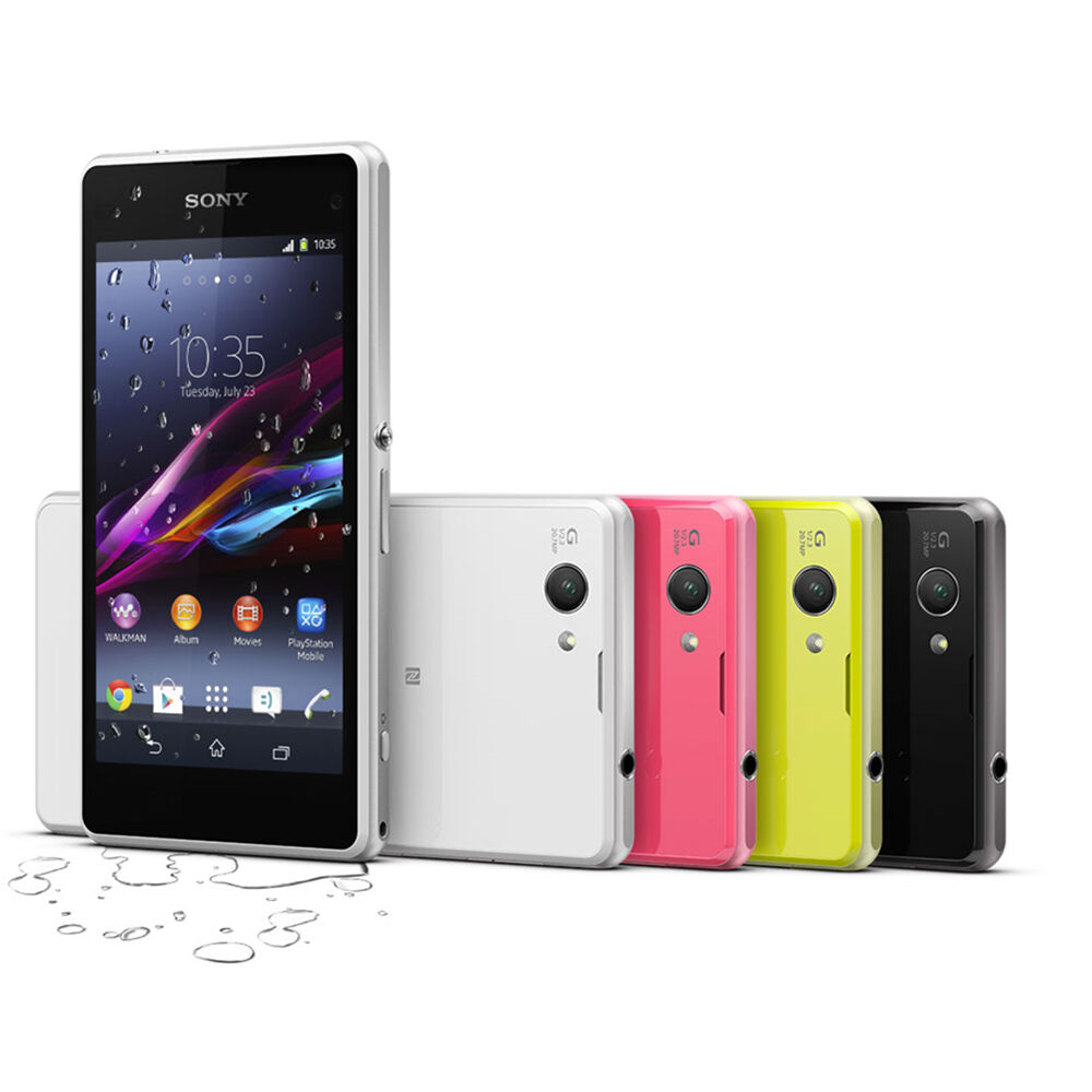 sony ericsson xperia z1 compact d5503 4g 4 3 unlocked. Black Bedroom Furniture Sets. Home Design Ideas