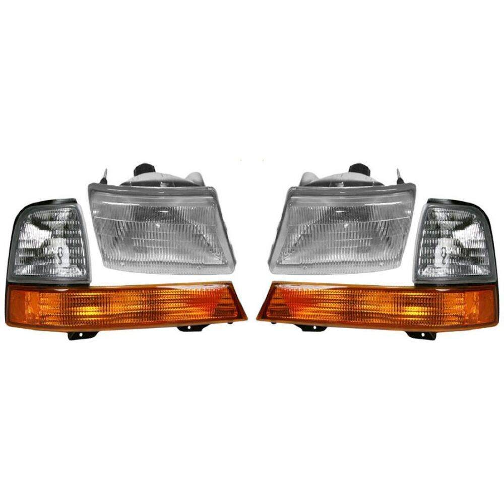 Ford Ranger Headlights : Ford ranger headlight head and corner lamps