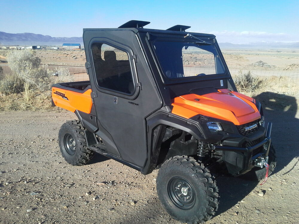 Honda Pioneer 1000 Cab Enclosure with Tip out Windshield & Full Suicide Doors | eBay